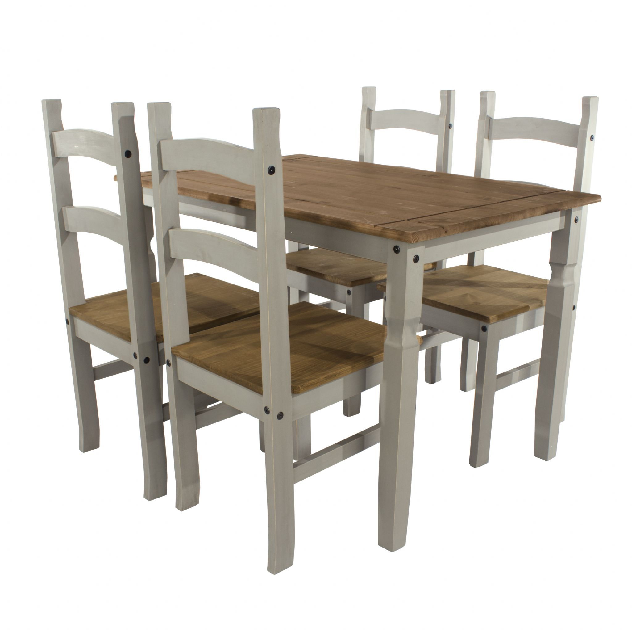 grey wash dining table. Premium Corona Grey Wash Pine Dining Table And Chair Sets