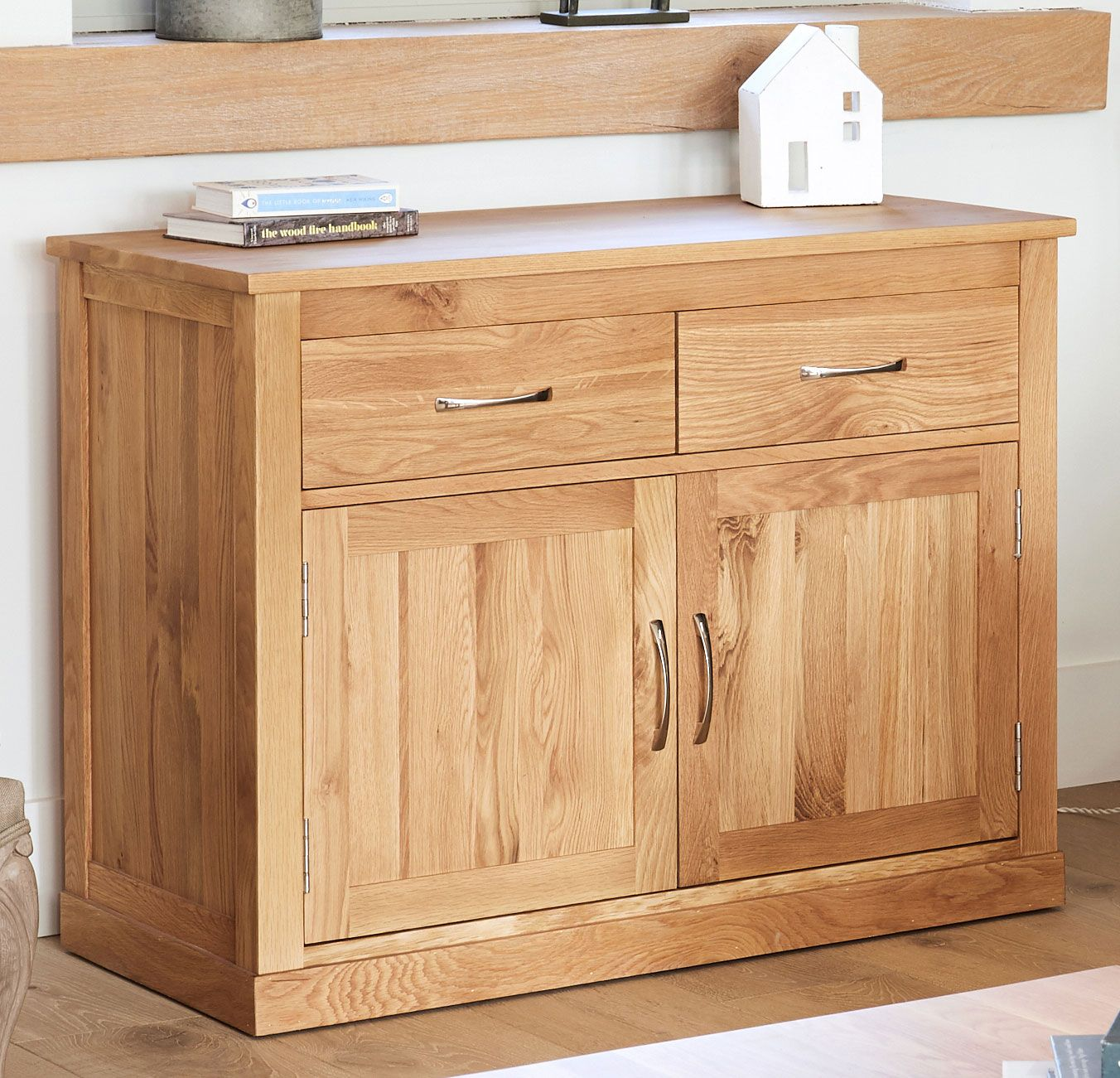 Picture of: Mobel Oak Large Sideboard Oak Centre Drawer Sideboard Wood Sideboard